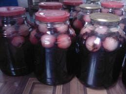 заготовки на зиму из черноплодной рябины