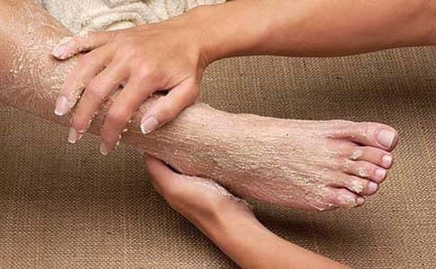 скраб для ног