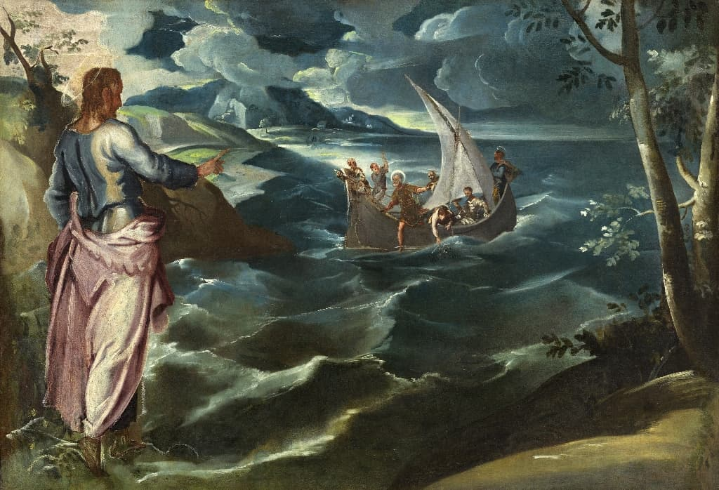Тинторетто-Христос-на-Галилейском-море