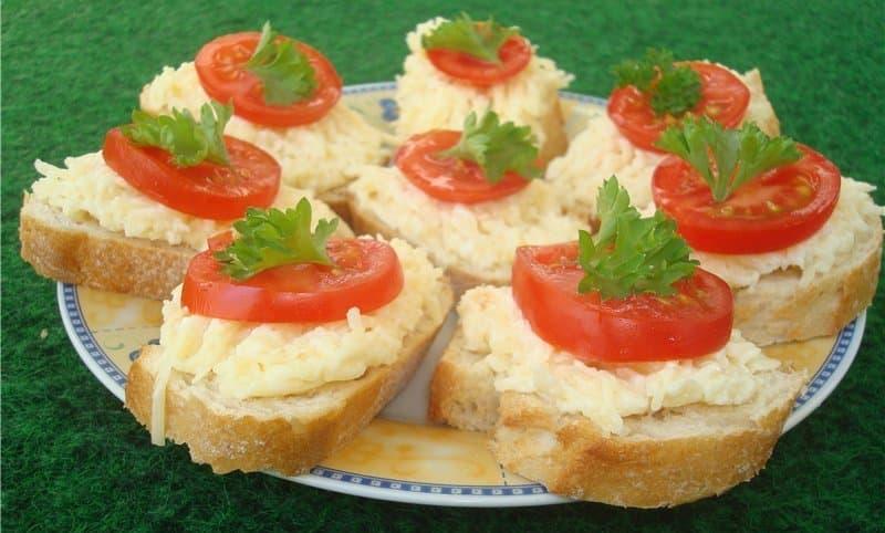 бутерброды гости на пороге простые рецепты