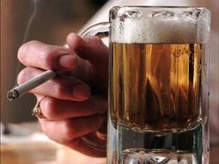 сигареты и алкаголь