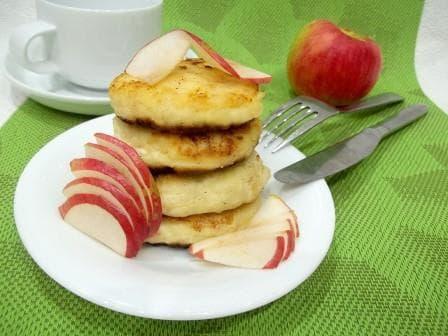 сырники с творога с яблоками рецепт с фото пошагово