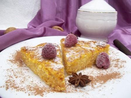 Пирог творожный— пошаговый рецепт с фотографиями, приготовленный в духовке