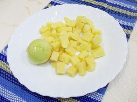 Картошка и лук