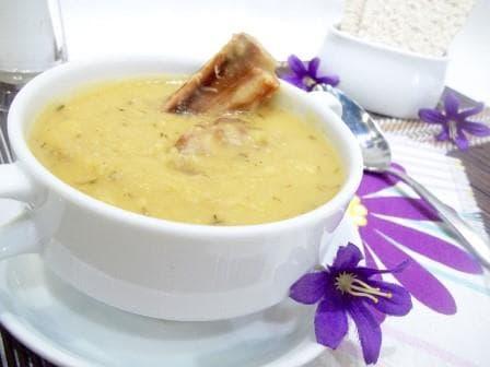 Суп гороховый с копченостями— любимый и очень вкусный рецепт