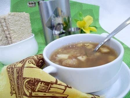 Как приготовить суп с фрикадельками— пошаговый рецепт с фотографиями