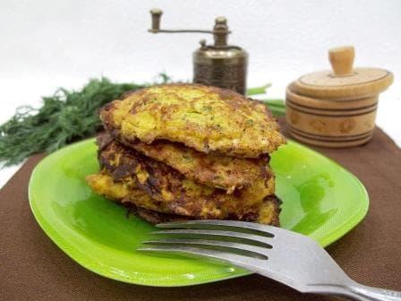 Оладьи из кабачков— самый простой и вкусный рецепт