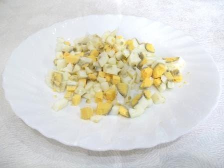 Яйцо рубленое