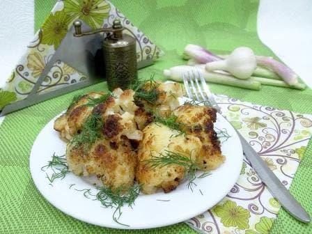 Как вкусно приготовить цветную капусту, рецепт с фотографиями