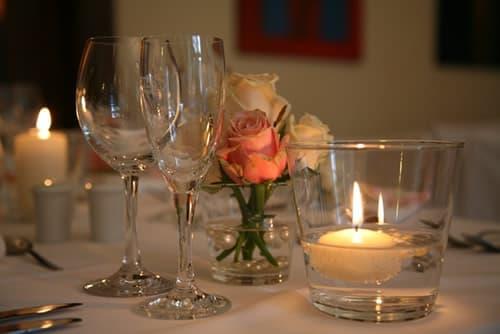 Как быстро приготовить домашний романтический ужин