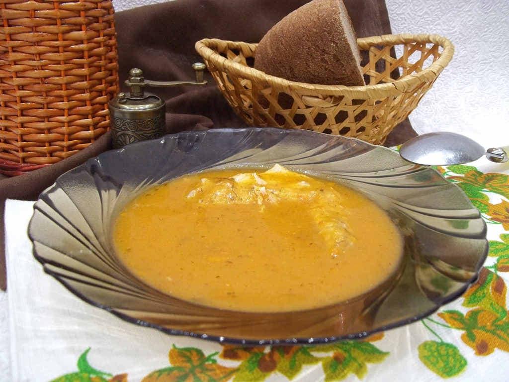 Овощной суп-пюре, рецепт диетический для похудения