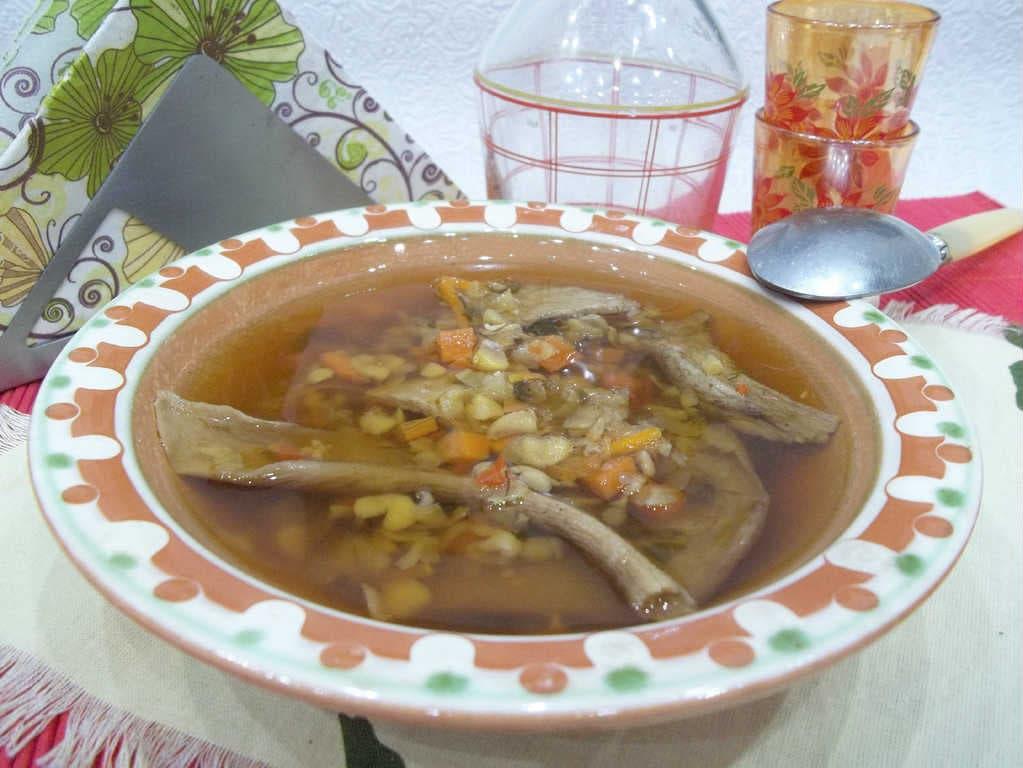 Грибной суп из сушеных грибов— рецепт