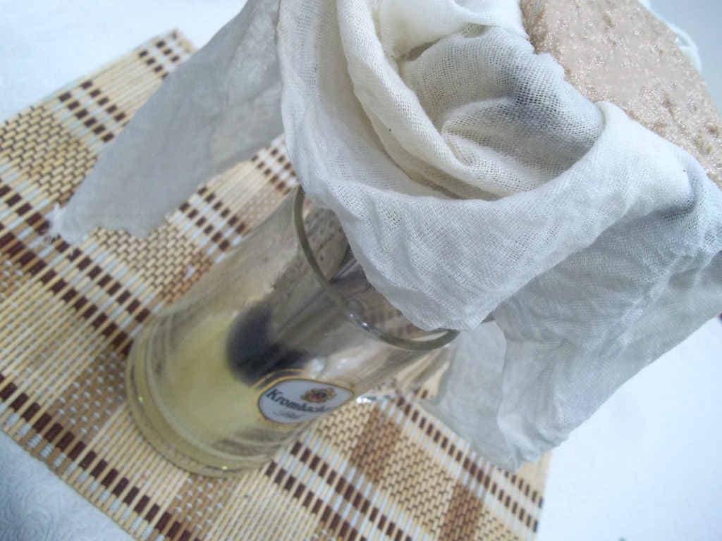 Пасха из творога с какао