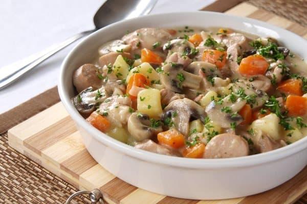 Грибной рецепт с картошкой