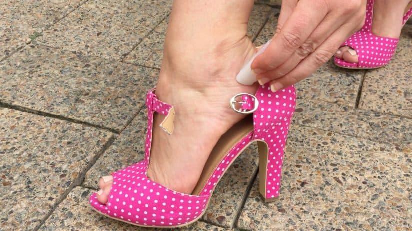 Туфли жмут