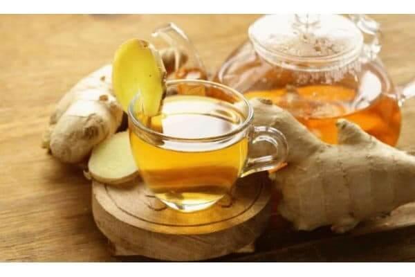 Чай имбирь с лимоном