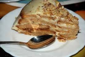 Торт из пряников без выпечки - два простых рецепта