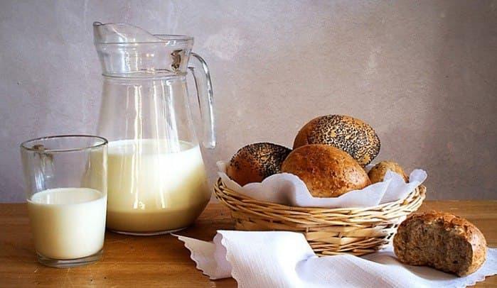 Шампунь из кефира и хлеба