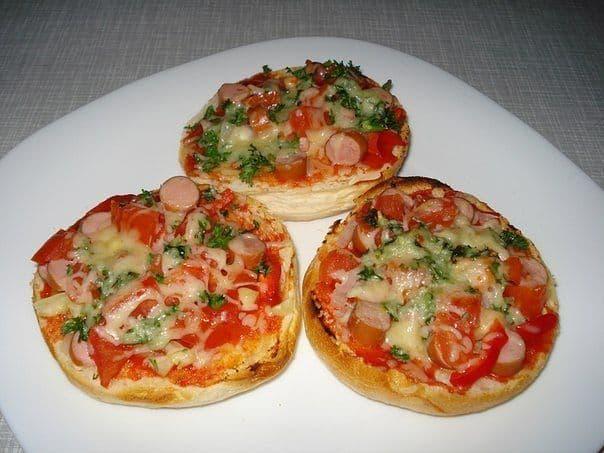 горячие бутерброды с ветчиной в духовке рецепты