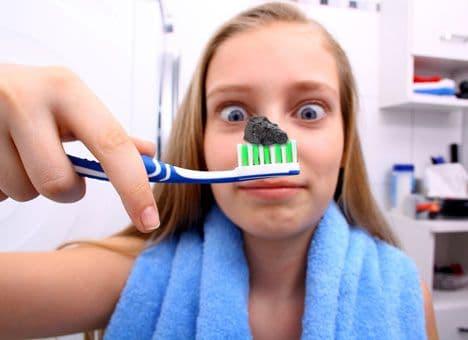 Уголь для зубов