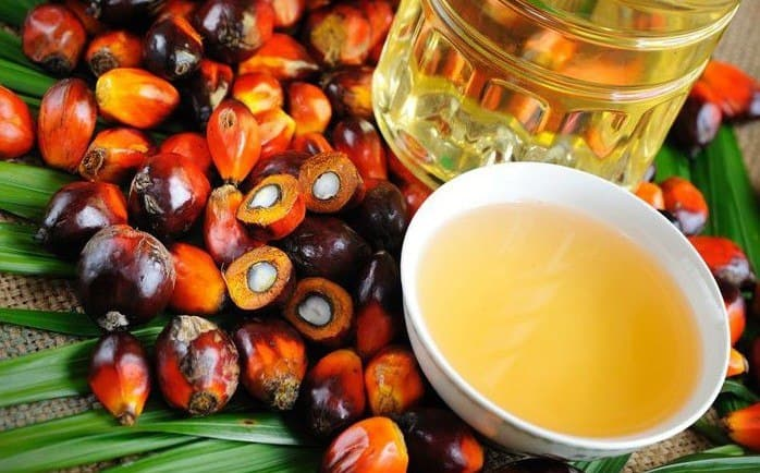 чаша с пальмовым маслом