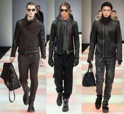 Черные куртки