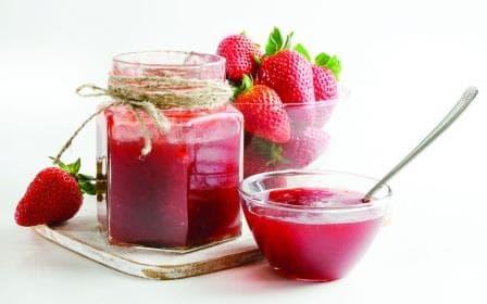 strawberries-jam