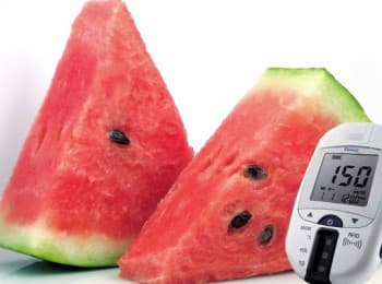Арбуз при сахарном диабете