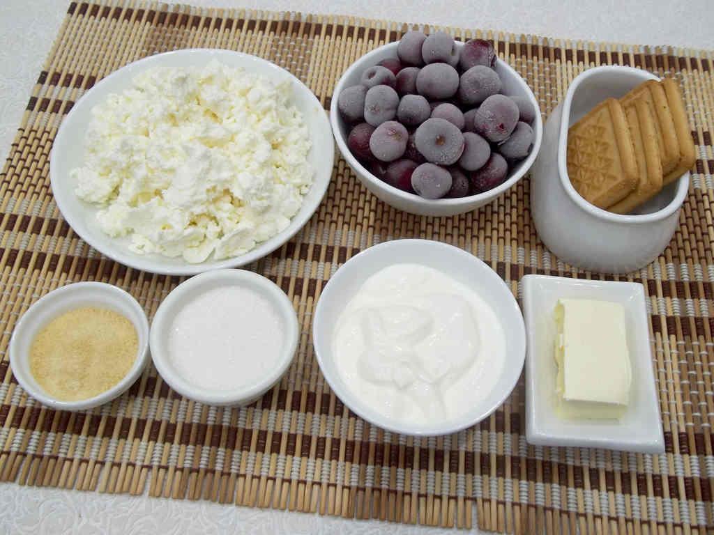 produkty-dlya-tvorozhnogo-torta-bez-vypechki