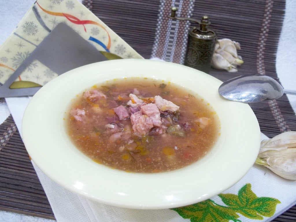 Как приготовить солянку не суп в домашних условиях 758
