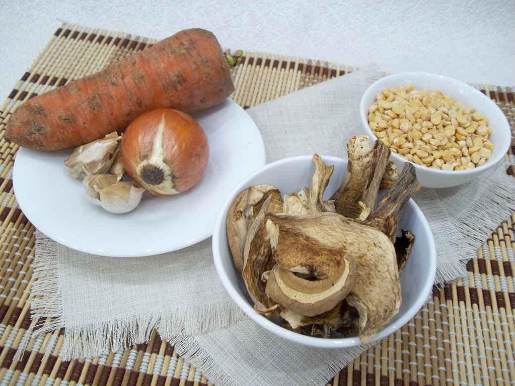 Продукты для грибного супа