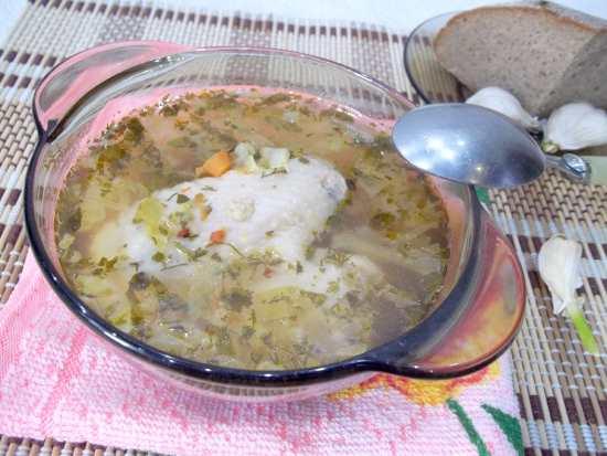Куриный суп из крылышек