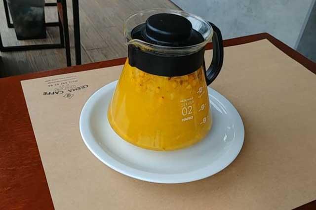 Чай с облепихой и мёдом
