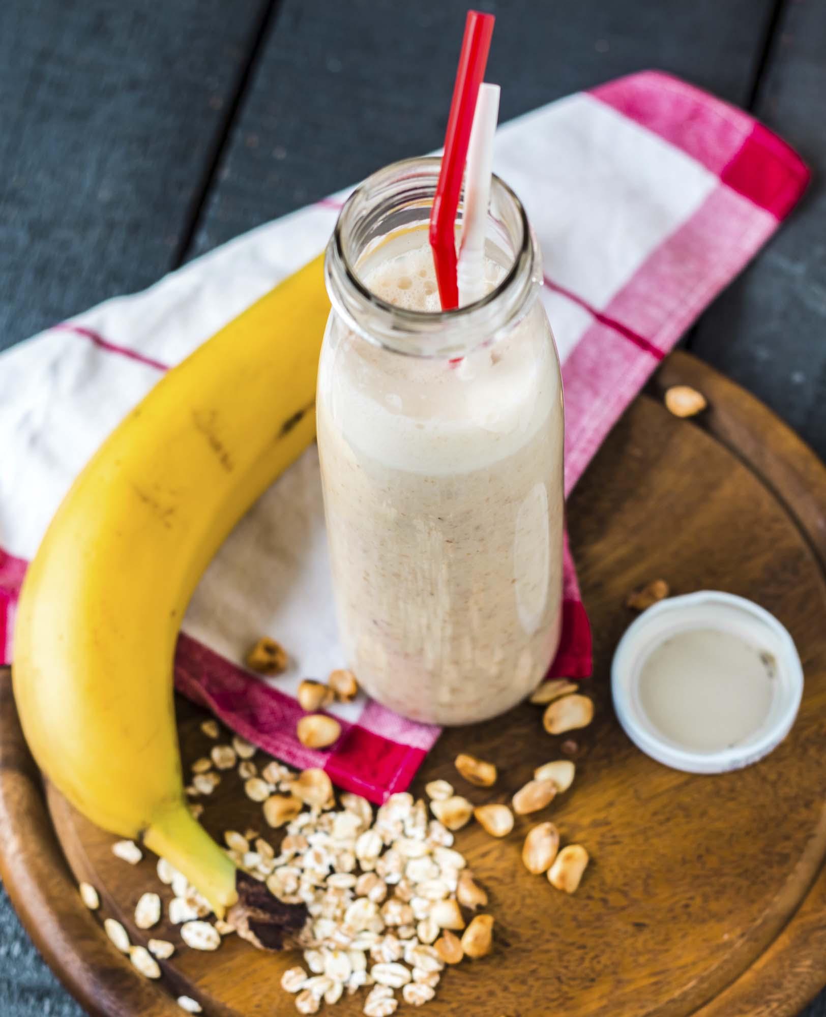 Овсяно-банановый смузи