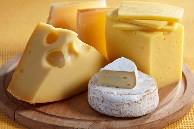 Разные виды сыров